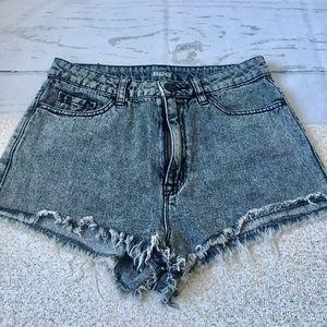 UO BDG High Rise Dree Cheeky Shorts